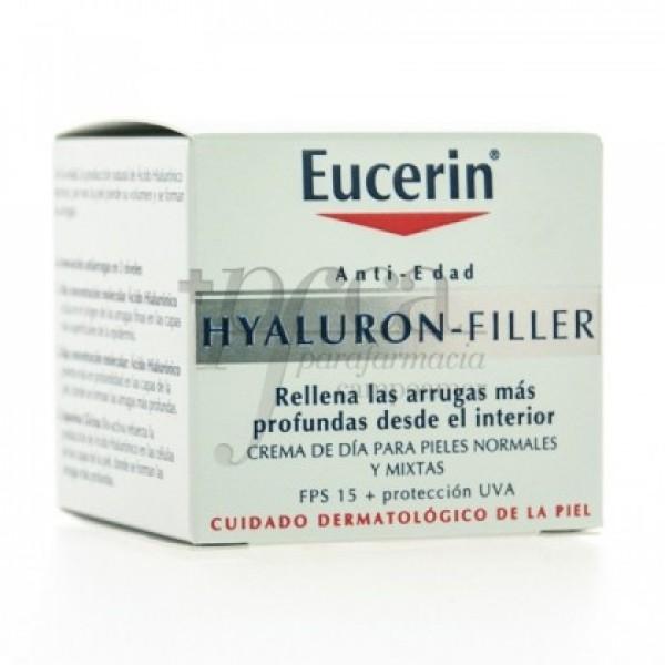 EUCERIN VIAJE HYALURON-FILLER P/NORM MIXTA 20ML