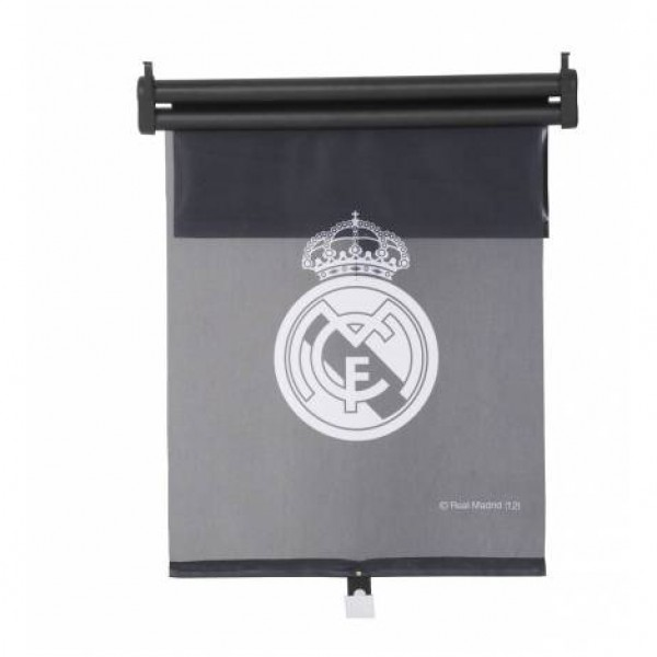 Parasol cortinilla lateral doble real madrid