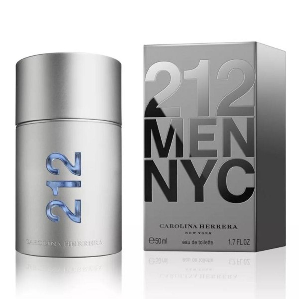 Carolina herrera 212 men eau de toilette 50ml vaporizador