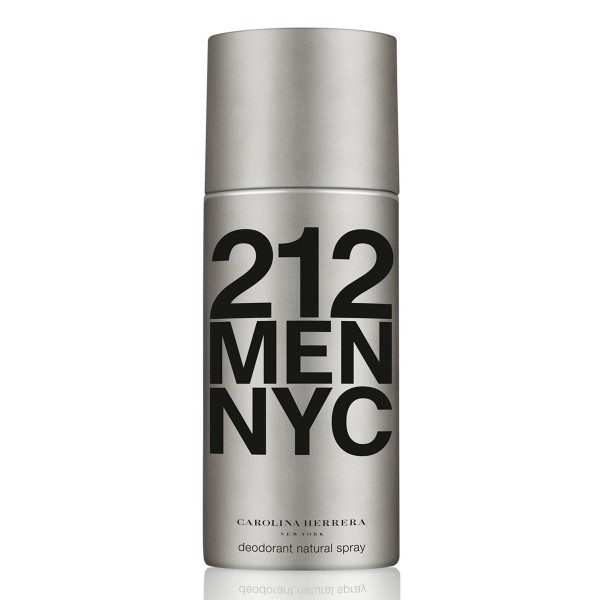 Carolina herrera 212 men desodorante 150ml vaporizador