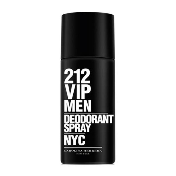 Carolina herrera 212 vip men desodorante 150ml vaporizador