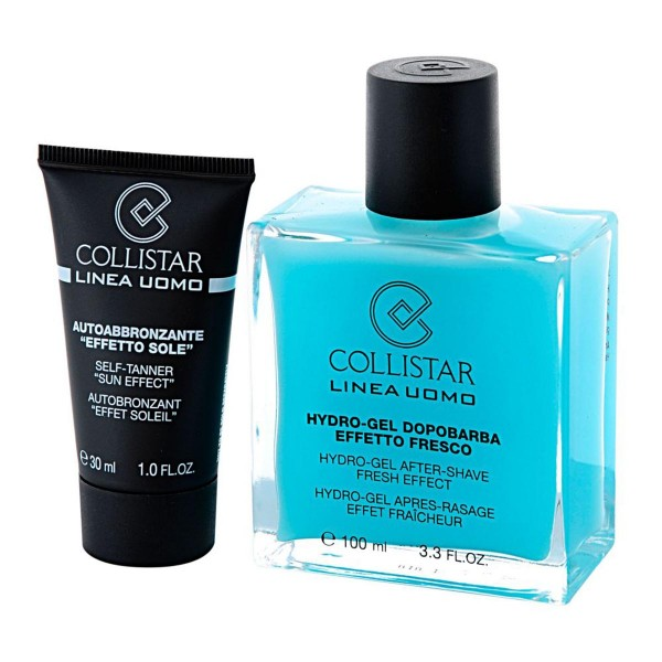 Collistar uomo after shave hydro-gel 30ml + auto-bronzant 30ml