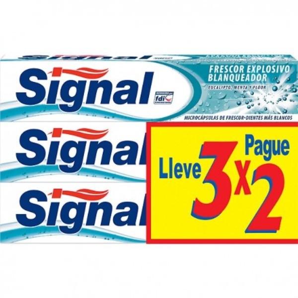 Signal  Frescor Explosivo 3x2 de 75ml