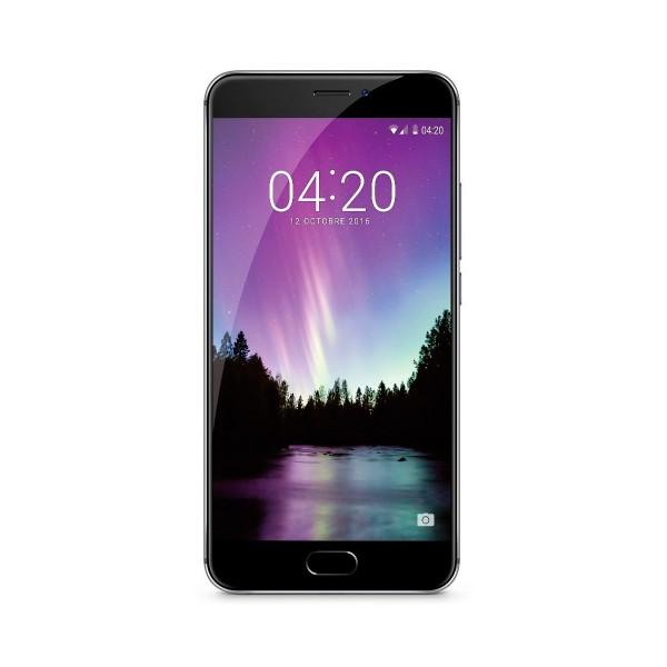 Meizu mx6 gris oscuro móvil 4g dual sim 5.5'' fhd/10core/32gb/4gb ram/12mp/5mp