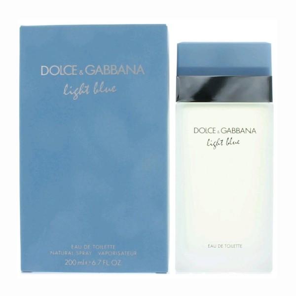 Dolce & gabbana light blue eau de toilette 200ml vaporizador