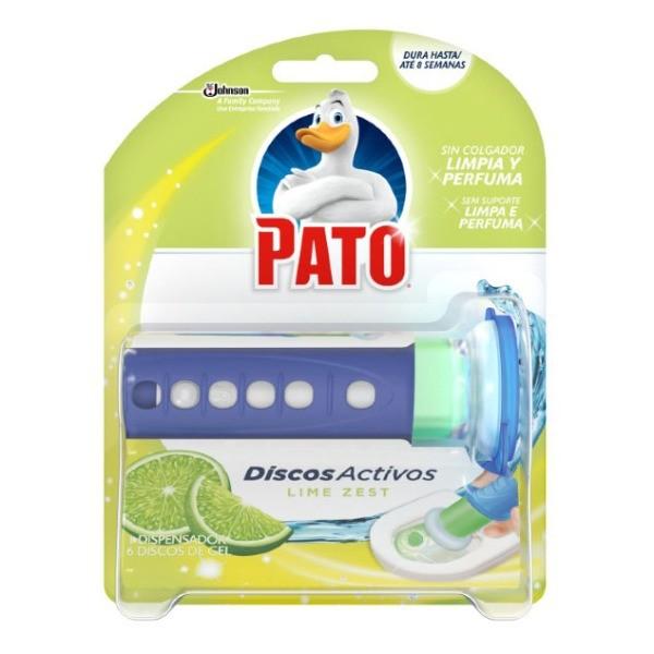 PATO LIMPIADOR WC dispensador 6 Discos Lima