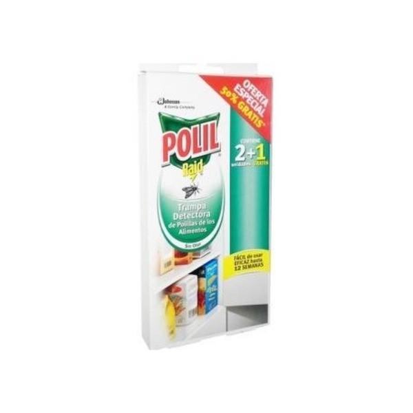 Polil trampa antipolillas 2 + 1