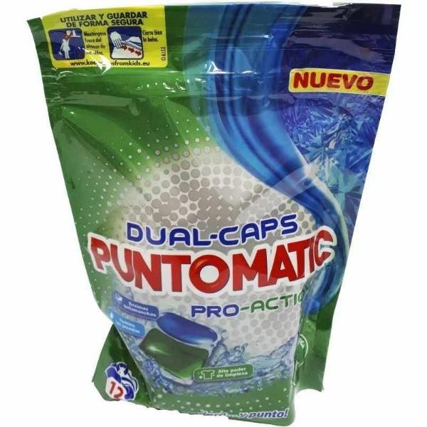 PuntoMatic  detergente en cápsulas Pro-Action 12 u