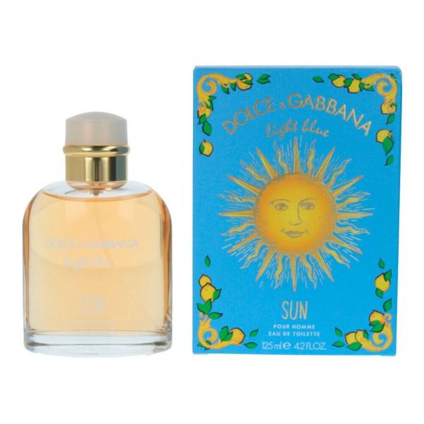 Dolce & gabbana light blue sun pour homme eau de toilette 125ml vaporizador edicion limitada
