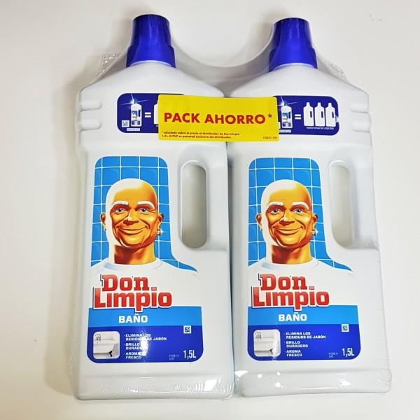 Don limpio baño 1.5 l,   2 x 1