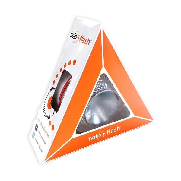Help flash luz de emergencia homologada dgt autónoma señal 16v de preseñalización de peligro